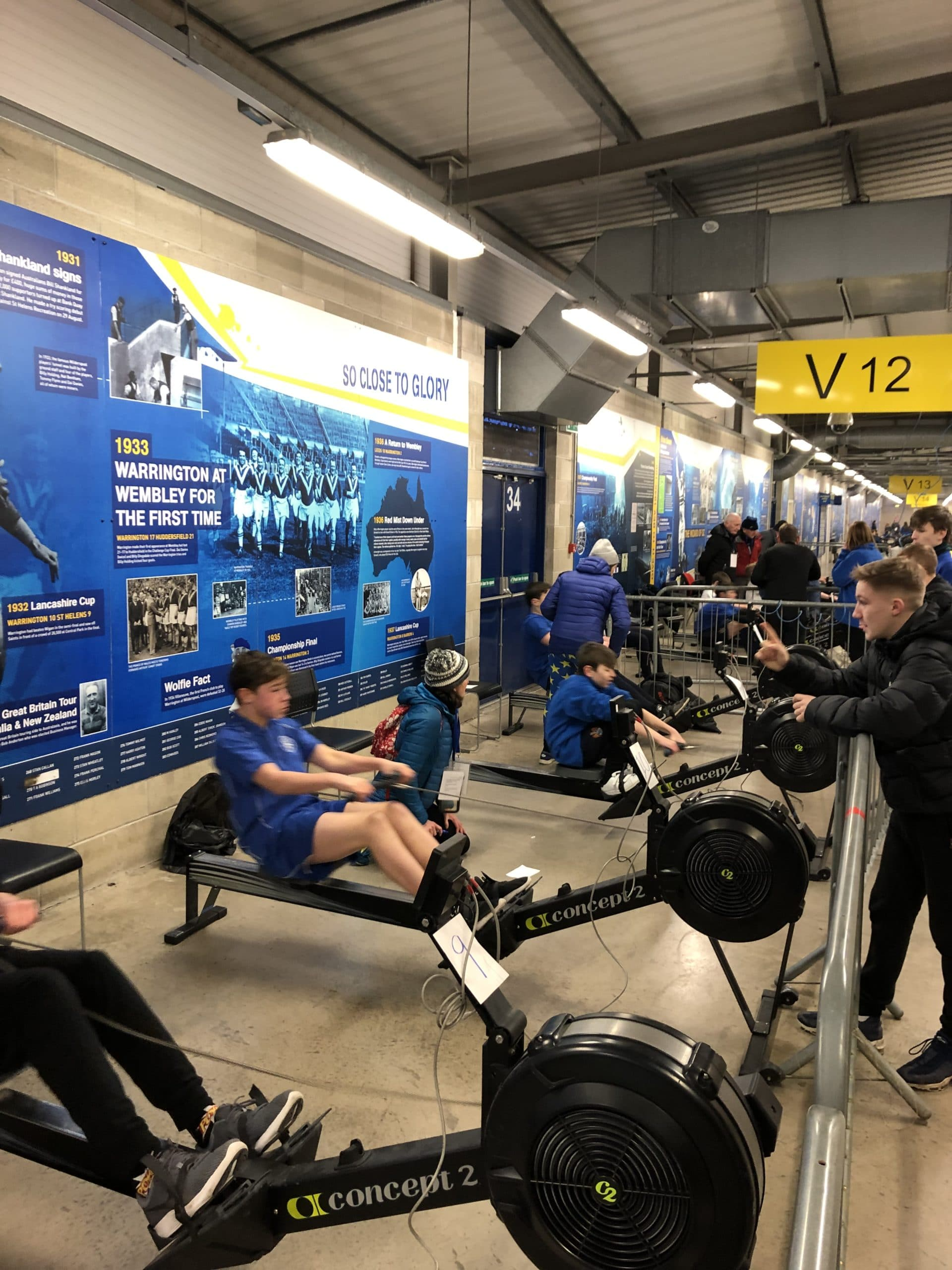 Halliwell Jones Indoor Rowing