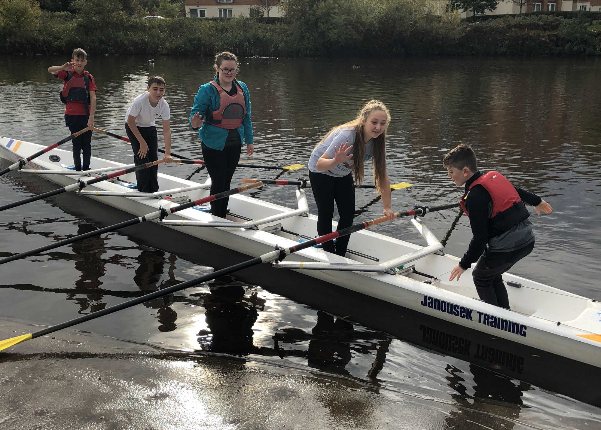 Warrington Youth Rowing - General Shot